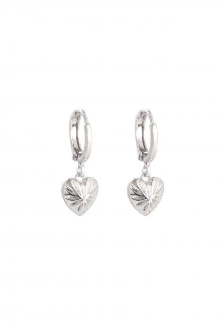 Sweet Love kleine zilveren oorbellen