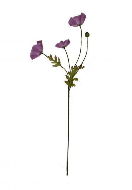 Lila kunstbloem