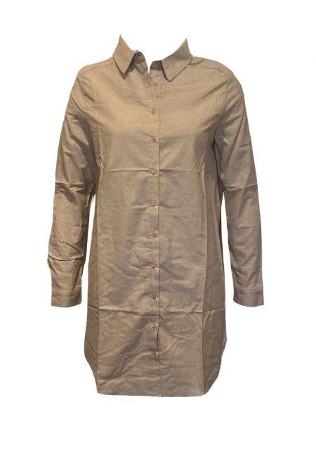 Lange basic camel blouse