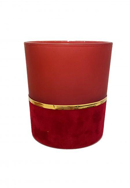 Velvet rood sfeerlichtje groot