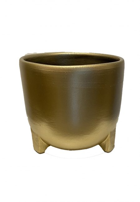 Grote gouden pot-vaas