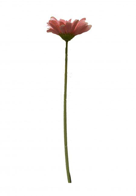 Roze Gerbera kunstbloem