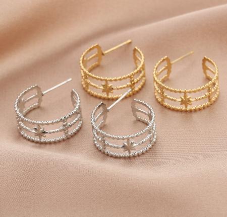 De Leuke dingen, deleukedingen, jewels, jewellery, sieraden, oorbellen, earrings, necklace, ketting, goud, zilver, gold , silver