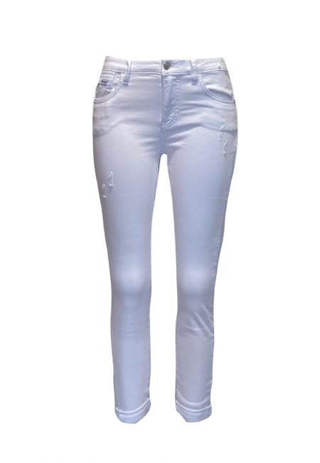 Witte full stretch jeans