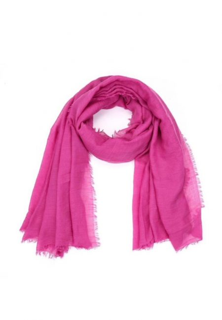 Fuchsia shawl