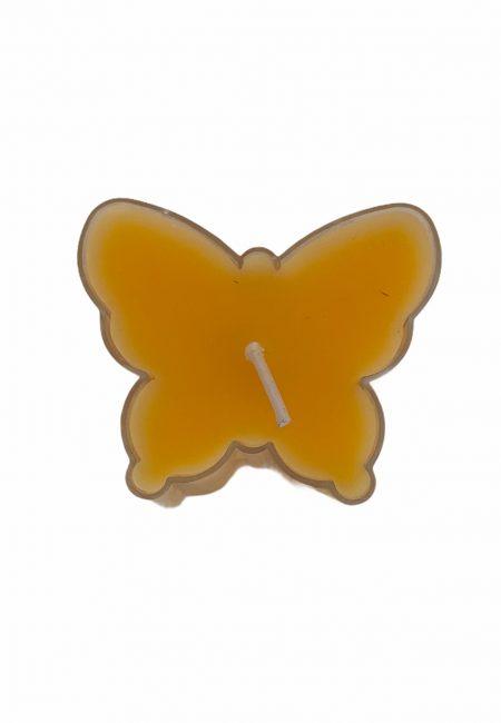 Vlinder kaarsje, 4,5 cm