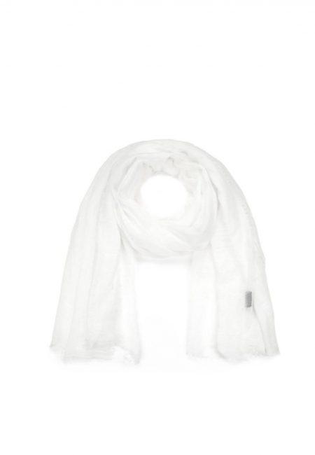 Witte shawl