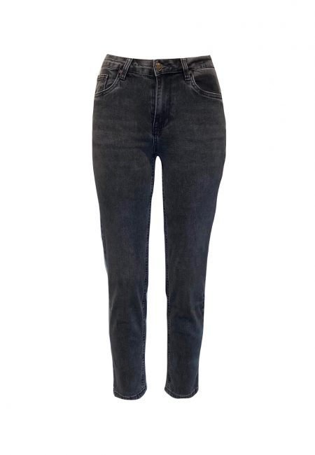 Antraciet regular fit jeans