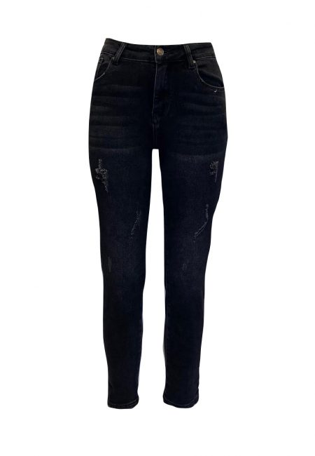 Zwarte regular fit jeans