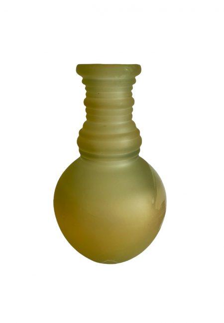 Glazen goud, gele vaas