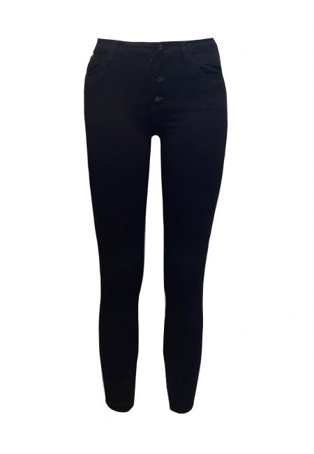 Zwarte full stretch jeans