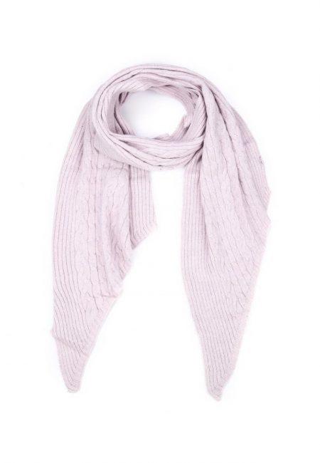 Lange shawl lila