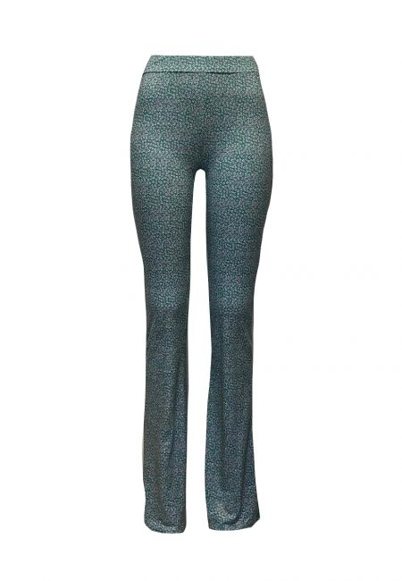 Luxe tricot flared pants