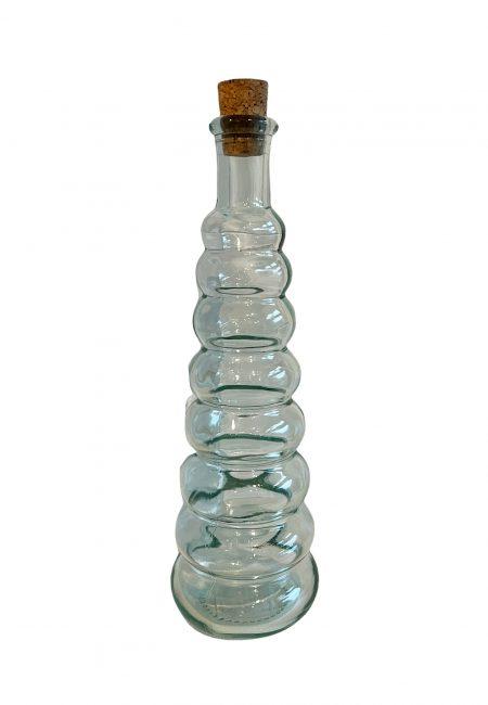 Olie fles, kandelaar