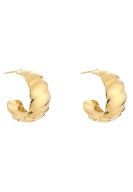 Klasieke oorbellen goudkleurig